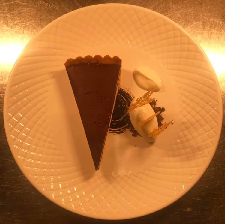 Guanaja 70% Chocolate Tart